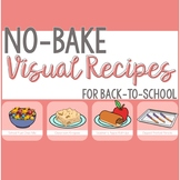 Back-to-School No-Bake Visual Recipes for a month