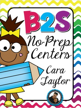 Back to School No-Prep Centers, Games and Activities