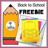 Back to School No-Prep Freebie