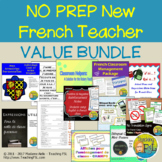 Back to School No Prep New Classroom Bundle (French)