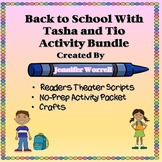Back-to-School No-Prep Packet, Crafts, and Readers Theater Script Bundle