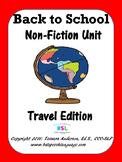 Back to School Non-Fiction Unit
