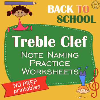 Back to School Note Naming Worksheets