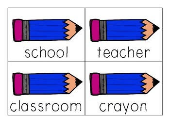 Back to School Noun Read the Room