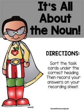 Back to School Nouns