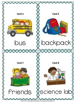 Back to School Nouns Scavenger Hunt and Word Sort