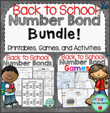 Back to School Number Bonds Bundle