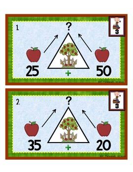 Back to School Number Bonds Tiered Math Tub