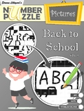 Back to School Number Puzzle Pictures Volume I