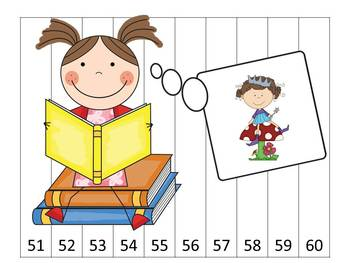 Back to School Number Puzzles 1-100, 2s, 5s and 10s Skip Counting