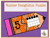 Back to School Number Puzzles (1-20)
