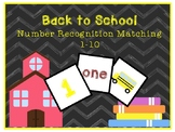 Back to School Number Recognition