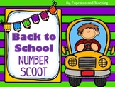 Back to School! Number Scoot