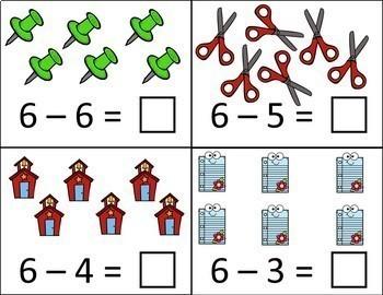 Back to School Number Sense, Addition, Subtraction, & Measurement Bundle