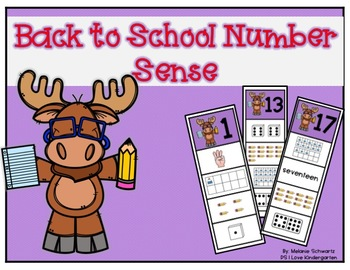 Back to School Number Sense using Clips
