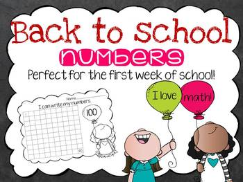 Back to School Numbers