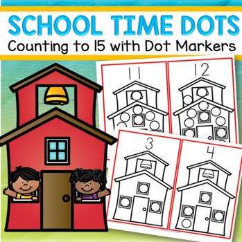Dot Markers Back to School Numbers