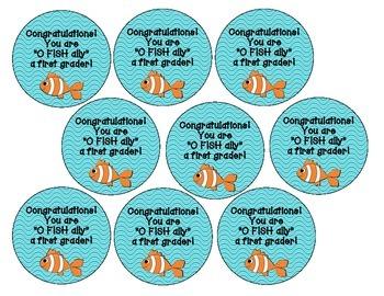 Back to School: O FISH ally Snack Tags {Freebie!}