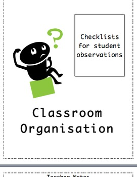 Back to School - Observation and Assessment Grids and Checklists