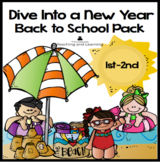 Back to School Ocean Theme for Primary Students