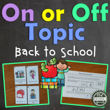Back to School On/Off Topic (Full Version)