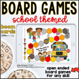 Back to School Open Ended Digital Board Games |  BOOM CARDS™