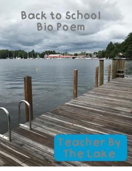 Back to School / Open House Bio Poem
