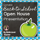 Back to School Open House {Editable} Presentation