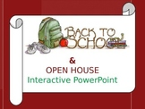 Back-to-School & Open House Interactive PowerPoint