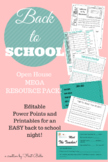 Back to School/ Open House MEGA BUNDLE (Pink & Teal)