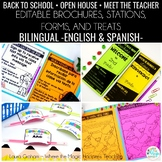 Back to School • Open House • Meet the Teacher Bilingual p