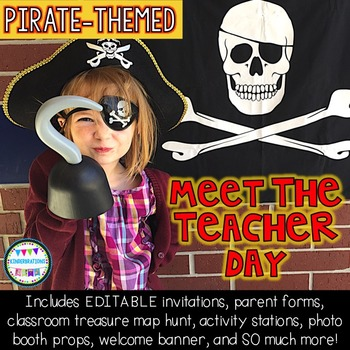 Back to School-Meet the Teacher-Pirate Theme Stations