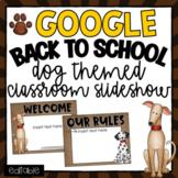 Back to School Open House Meet the Teacher Dog Theme- Editable