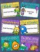 Back to School Open House Meet the Teacher Monster Theme PowerPoint Editable
