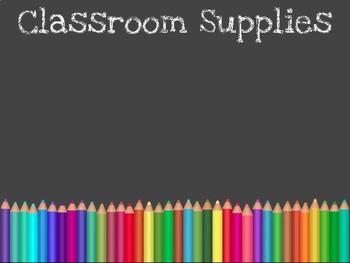 Back to School, Open House, Meet the Teacher Presentation