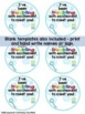 Back to School Gifts, Open House, Meet the Teacher Student Gift Tags Editable