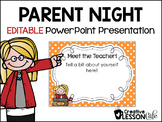 Back to School ~ Open House PowerPoint ~Editable
