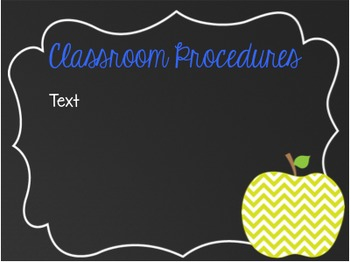 Back to School Open House Powerpoint Presentation