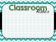 Back to School / Open House Powerpoint Presentation Templates {Chevron Teal}