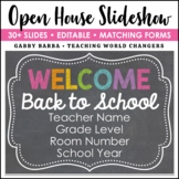 Chalkboard Back to School Open House Powerpoint Template