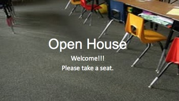 Open House Template, Introduction Video, Lock Instructions, & more