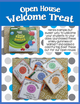 Back to School: Open House Treat
