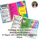 Back to School Open House Unicorn Bright Colors {Editable} Brochure