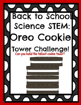 Back to School Oreo Cookie Tower Challenge!