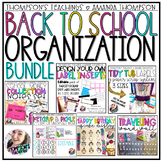 Back to School Organization Bundle