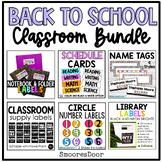 Back to School Organization Bundle