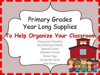 Back to School Organizational Tools