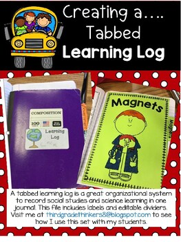 Back to School: Organizing a Learning Log