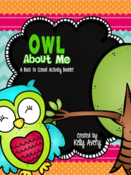 Back to School All About Me Owl Themed