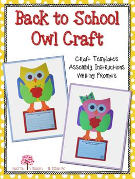 Back to School Owl Craft